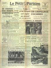 Petit Parisien Edition De Paris (Le) du 18/02/1941 - Couverture - Format classique