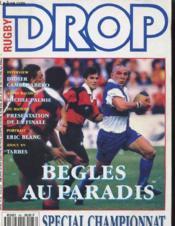 Rugby Drop International N°66 - Begles Au Paradis - Couverture - Format classique