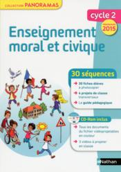 Vente  Enseignement moral et civique - cycle 2 - fiches photocopiees - programme 2015  - Pointu Suzanne