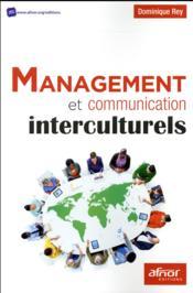 Management et communication interculturels - Couverture - Format classique