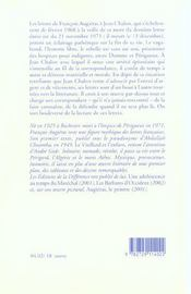 Diable Ermite (Le ) - 4ème de couverture - Format classique