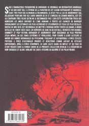 Polar extrême ; Gilles Hamesh, privé (de tout) - 4ème de couverture - Format classique