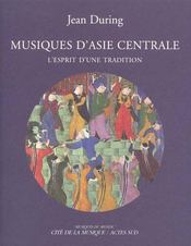 Musiques D'Asie Centrale (Livre + Cd) - Intérieur - Format classique