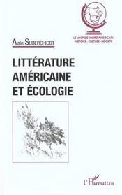 Litterature Americaine Et Ecologie