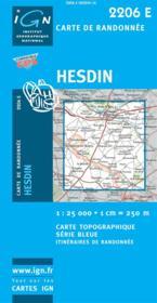 Hesdin - Couverture - Format classique