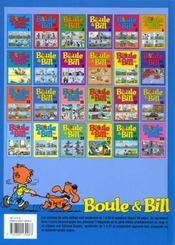 Boule & Bill t.8 - 4ème de couverture - Format classique
