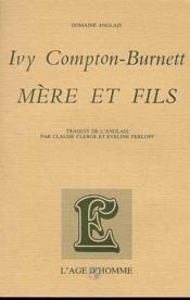Mere Et Fils - Couverture - Format classique