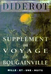 Supplément au voyage de Bougainville - Intérieur - Format classique
