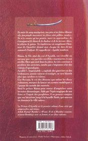 Le Prince D'Ayodia - 4ème de couverture - Format classique