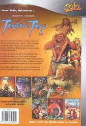 Trolls de Troy t.1 ; histoires trolles - 4ème de couverture - Format classique