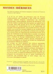 Crise Espagnole Et Renouveau Ideologique Et Culturel En Mediterranee - 4ème de couverture - Format classique