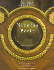 Nicolas Petit - Couverture - Format classique