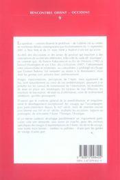 De L'Orient A L'Occident Et Retour Perceptions Et Representations De L'Autre Dans La Litterature Et - 4ème de couverture - Format classique