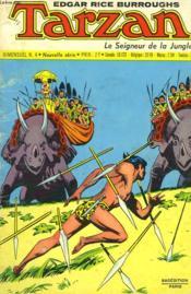 Tarzan - Le Seigneur De La Jungle - Bimensuel N°4 - Couverture - Format classique
