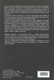 Invention De La Ville Moderne (L') - 4ème de couverture - Format classique