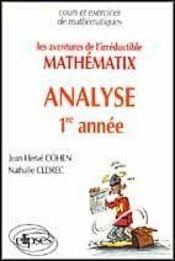 Les aventures de mathématix l'irréductible analyse 1re année - Intérieur - Format classique