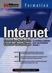 Internet connexion navigation courrier electronique micro application - Couverture - Format classique