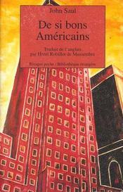 De si bons américains - Intérieur - Format classique