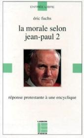 Morale Selon Jean-Paul Ii - Couverture - Format classique