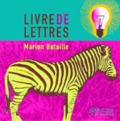 Livre De Lettres - Couverture - Format classique
