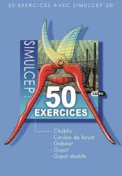 SimulCep 3D ; 50 exercices - Couverture - Format classique