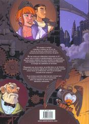 Les Citadelles Excentriques T.1 ; L'Ennemi Cybernetique Numero 1 - 4ème de couverture - Format classique