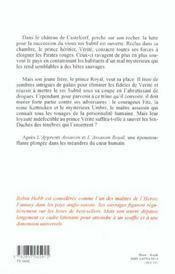 L'assassin royal t.3 ; la nef du crépuscule - 4ème de couverture - Format classique
