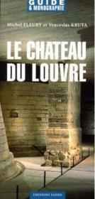 Le château du Louvre - Couverture - Format classique