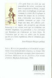 L'histoire suisse en un clin d'oeil - 4ème de couverture - Format classique