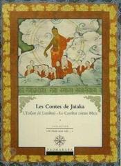 Les Contes De Jataka L Enfant De Lumbini Et Le Combat Contre Mara - Couverture - Format classique