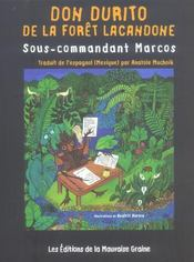 Don Durito De La Foret Lacandone, Sous-Commandant Marcos - Intérieur - Format classique