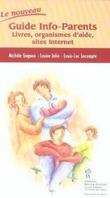 Le Nouveau Guide Info-Parents - Intérieur - Format classique