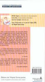 Le Nouveau Guide Info-Parents - 4ème de couverture - Format classique