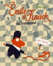 Emile et Knack au restaurant - Couverture - Format classique