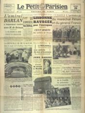 Petit Parisien Edition De Paris (Le) du 20/02/1941 - Couverture - Format classique