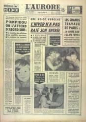 Aurore (L') N°6315 du 21/12/1964 - Couverture - Format classique