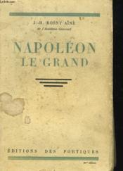 Napoleon Le Grand - Couverture - Format classique