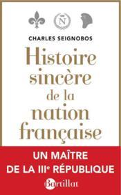 Histoire sincère de la nation française - Couverture - Format classique