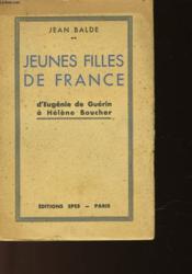 Jeune Filles De France - Couverture - Format classique