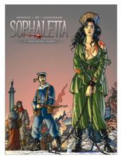Sophaletta t.7 ; pour sauver Lioubov - Couverture - Format classique
