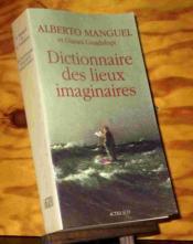Dictionnaire des lieux imaginaires - Couverture - Format classique