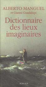 Dictionnaire des lieux imaginaires - Intérieur - Format classique