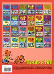 Boule & Bill t.10 - 4ème de couverture - Format classique