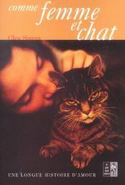 Comme femme et chat. une longue histoire d'amour - Intérieur - Format classique