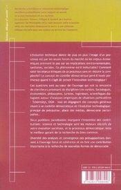 Éthique, technique et démocratie - 4ème de couverture - Format classique