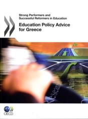 Vente livre :  Education Policy Advice for Greece  - Collectif
