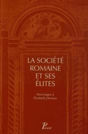 Rome et ses élites - Couverture - Format classique