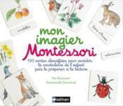 Mon imagier Montessori ; à partir de 3 ans - Couverture - Format classique