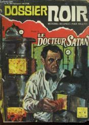 Dossier Noir - Mensuel N°1 - Couverture - Format classique