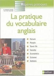 Vente  Pratique vocabulaire anglais  - Daniel Bonnet-Piron